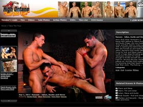 Welcome to High Octane - hot gays fucking an blowing each other!
