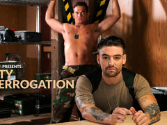 As Luke Milan stands bound and blindfolded at interrogator Johnny Torque's request, it occurs to him that he may be fucked, figuratively speaking. Exactly after all, desertion is not a crime the military takes lightly, and Johnny seems to have a particula